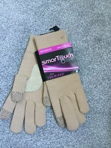 Ladies Totes Isotoner Smartouch Gloves
