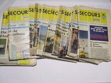TOURING SECOURS : TOUS LES N° DE L'ANNEE 1986 - 24 N° - RARE -
