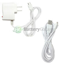Wall Charger+USB 10FT Cable for Android Phone Samsung Galaxy S6/Edge/Core Prime
