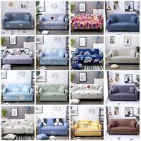 1/2/3/4 Seater Cartoon Stretch Sofa Cover Elastic Slipcovers For Living Room
