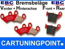 EBC Bremsbeläge VA+HA Redstuff POLARIS (ATV) 400 Sport L