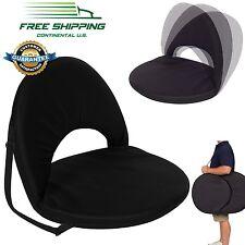 Large Padded Stadium Chair Reclining Seat Foldable Bleacher Portable Cushion New