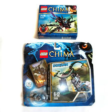 LEGO 70000 + 70109 CHIMA toys set of 2 unopened items with mini figures BARGAIN!