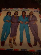 ABBA -Gracias Por La Musica-Spanish-Septima Records-SRLM1-Vinyl LP