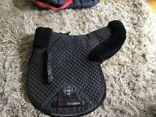 Black Lemieux Wool Lined Full Size GP Numnah