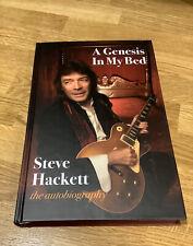 More details for steve hackett..genesis..signed hardback book..1st press..unturned..new..autobiog