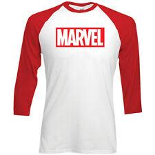 Marvel Comics Marvel Logo Official Merchandise T-Shirt M/L/XL - Neu