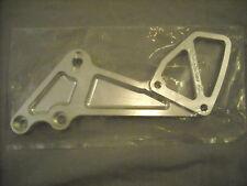 Vortex Silver Foot Brake Bracket RS547D 06-09 GSR600 GSXR750 Discontinued
