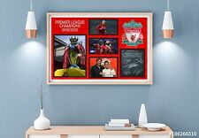 Liverpool FC Champions 19/20 Signed Photo Print Poster Football Memorabilia