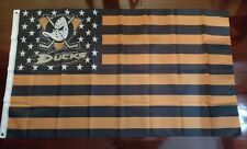 Anaheim Ducks 3x5 American Flag. Us seller. Free shipping within the Us!