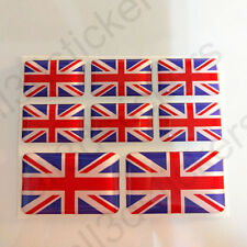 Adesivi Regno Unito Gran Bretagna UK Adesivo Bandiera Resinati 3D Resinato