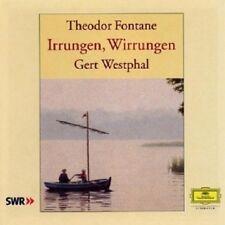GERT WESTPHAL - THEODOR FONTANE-IRRUNGEN,WIRRUNGEN  5 CD  HÖRBUCH  NEU