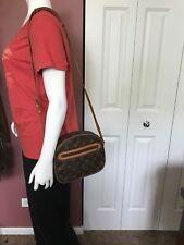 Authentic Louis Vuitton Vintage Senlis Monogram Cross Body / Shoulder Bag
