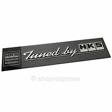 HKS Tuned by HKS Decal Sticker Brushed Silver Made in Japan 51003-AK118 Genuine