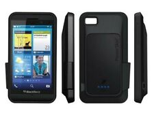 Blackberry Z10 Powerskin Silicone Case With Built In Battery Back Up Black NEW!