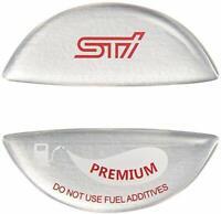 STI FUEL CAP ORNAMENT HIGH-OCTANE BLACK CAR ACCESSORIES GOODS STSG18100640