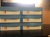 Lot Of 6 Madame Alexander First Ladies Of The United States Series VI In Boxes
