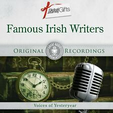FAMOUS IRISH WRITERS VOICES OF YESTERYEAR CD - ORIGINAL RECORDINGS