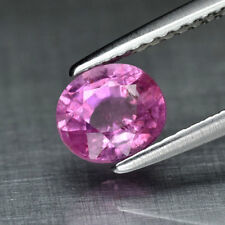 UNHEATED 1.17ct Natural PINK SAPPHIRE Oval New Translucent Gem Loose USA