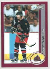 2002-03 TOPPS CHOME - REFRACTOR -   RICK NASH ROOKIE CARD