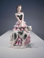 +# A001276 Goebel Archiv Dame Frau mit Windhund Barsoi FF275 Plombe