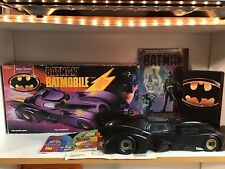 1990 Kenner Batman Dark Knight Collection MIB Batmobile Comic Book Movie VHS Lot