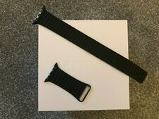 Apple Leather Loop Large for Apple Watch - Black (42mm & 44mm) MXAC2ZM/A Genuine