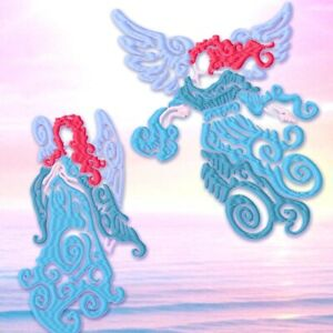 Celestial Angels 10 Machine Embroidery Designs on CD