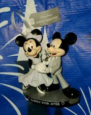 NEW Disney Parks Mickey and Minnie Happily Ever After Wedding Figural Ornament