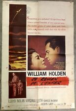 1956 TOWARD THE UNKNOWN FOREIGN MOVIE THEATRE POSTER NATIONAL SCREEN SERVICE