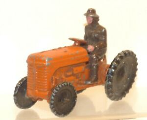 FV18 Pure Rubber Products (Early Benbros) tractor and driver VGC