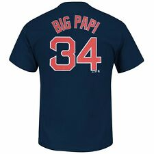 MLB Current & Retired Team Player Name & # Jersey T-Shirt Collection Men's