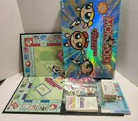 Powerpuff Girls Monopoly 2001 Parker Brothers Board Game Complete EUC