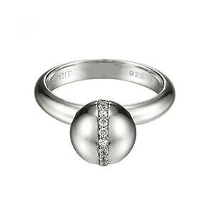 Esprit Ring ESRG91561A190 Damen 925er Sterling Silber Zirkonia NEU & OVP