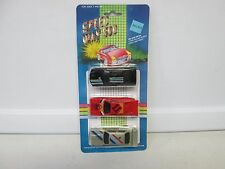 Speed Way 500 3 Car Pack w/Red Sports Car
