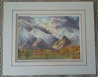 Landscape Watercolour Painting by B. Baker