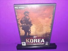Korea Forgotten Conflict Imported PC CD ROM Windows 98/2000/XP B466