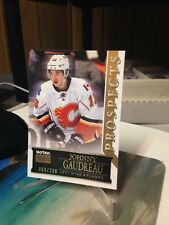 JOHNNY GAUDREAU RC #60/299 FLEER SKYBOX PREMIUM SHOWCASE #54 ROOKIE 2014 15