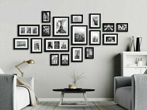 23PCS Multi-Picture Family Collage Photo Frame Frames Aperture Art Deco Wall Set