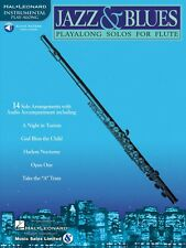 Jazz & Blues Instrumental Play-Along for Flute Instrumental Play-Along 000841438