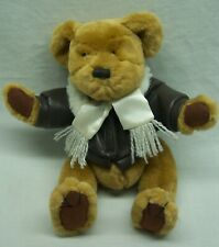 "Pickford Brass Button RADAR TEDDY BEAR AS PILOT 10"" Plush STUFFED ANIMAL Toy"