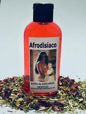 """BAÑO de DESCARGA DESPOJO """" AFRODISIACO  """" 100 ml"""