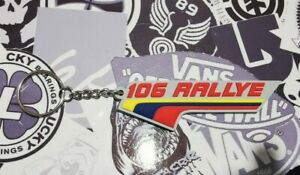 Peugeot Phase 1 106 Rallye Key-ring