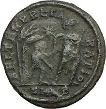 CONSTANS Constantine I son EA2 Ancient Roman Coin Young barbarian  i18839