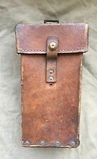 Original WW2 British Army Home Guard issue 1939 Patt Webbing Leather Sten Pouch