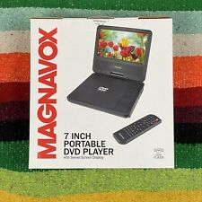 MAGNAVOX 7 Inch Portable DVD Player W/Swivel Screen Display Remote NEW Sealed