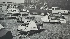 Vintage Snowmobile BOOK Arctic Cat Polaris TX Starfire 2+1 Rupp Racing Herters