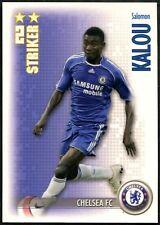 Salomon Kalou Chelsea FC Shoot Out 2006-7 Magic Box Football Trade Card (C1298)