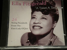 Fitzgerald Ella - A Tisket A Tasket - CD Album - 24 Great Tracks - 1995