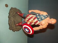MARVEL EARTH X CAP RESIN STATUE by ALEX ROSS & JARROD SHIFLETT #1322/1941